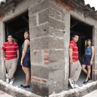 Intramuros Shoot | Deneb & Maan + Baby Reema