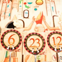 Venue Styling | Egyptian Theme by Passioncooks