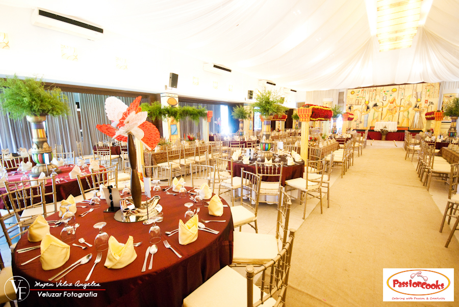 Venue Styling Egyptian Theme By Passioncooks