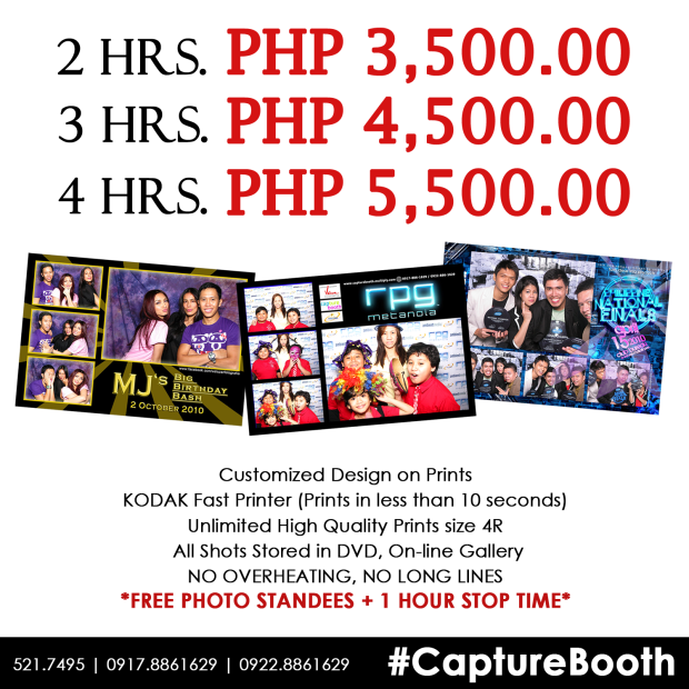 Photo Booth, Souvenir, Party Supplier, Wedding Supplier, Event Supplier, Manila Events