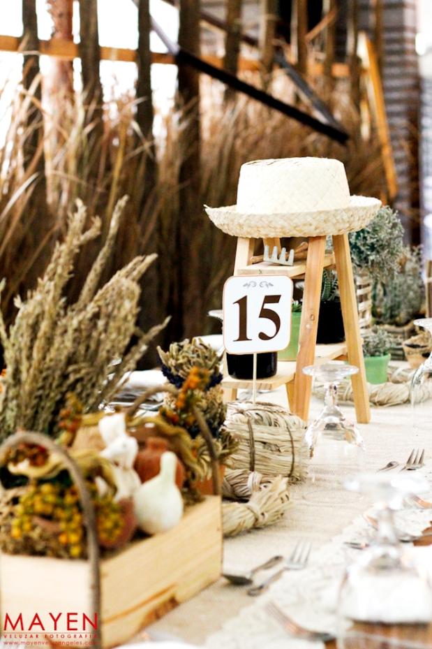 Passion Cooks Farm Themed Wedding