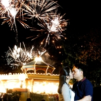 Enchanted Kingdom Engagement Shoot | Arnel + Marge