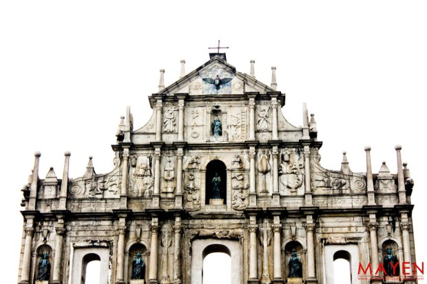 Macau, Senado Square, St Paul Ruins, Vacation, Travel, Photography