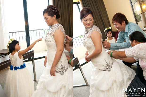 St. John Bosco Parish + One Esplanade Wedding   Michael + Jessic