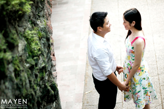 Intramuros Engagement Shoot | Kevin and Reina