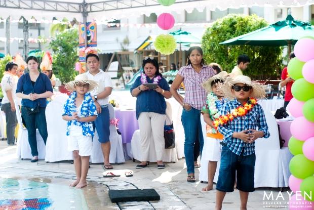 Palms Country Club   Sam's Luau Party