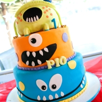 Friday's Fort Bonifacio Monster's Inc Party | Pio turns 1