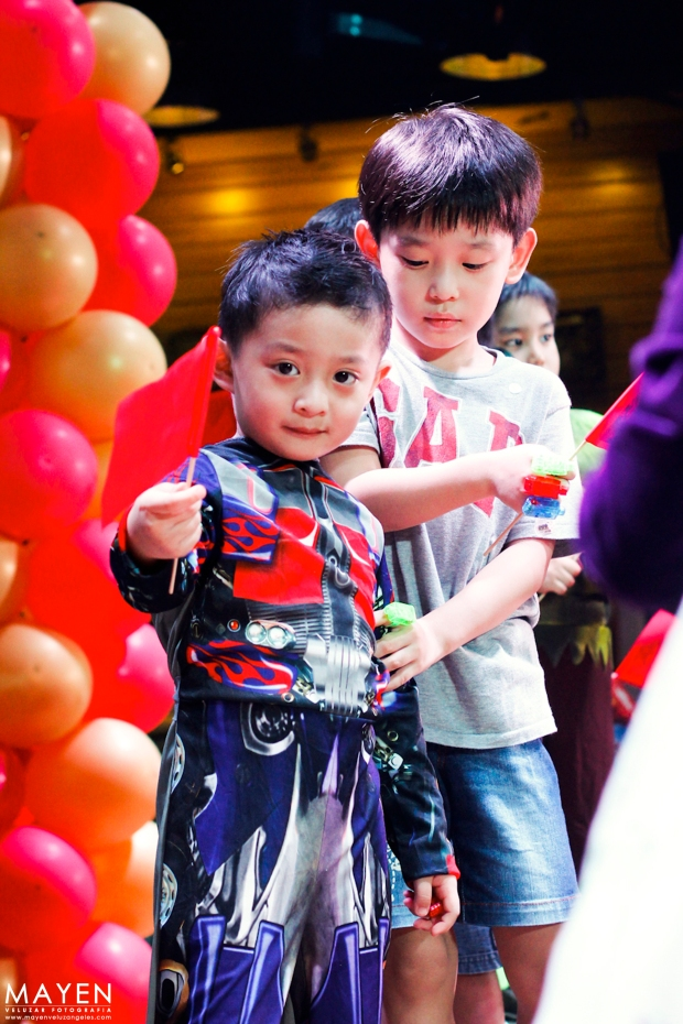 Movie Stars Cafe Heroes Party | Josh turns 5