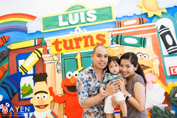 McKinley Hill Sesame Street Party | Luis is One